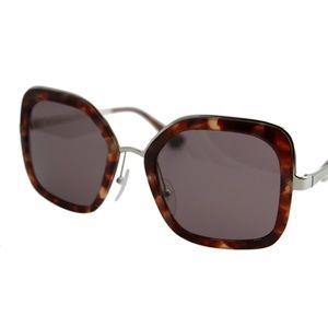 New Cinema SPR57US Square Oversized Sunglasses